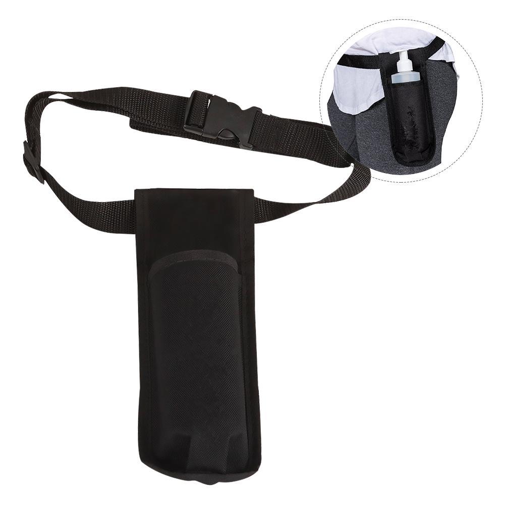 Spray Bottle Holder Bag Professional Hairdresser Tool Bottle Holster Single Kit Massage Oil Lotion Dispenser Waist Belt Holder