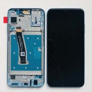 Image 3 - 100% huawei 社の名誉用の元の表示 10 lite 液晶タッチスクリーンデジタイザとフレームグローバルバージョン名誉 10i HRY LX1 HRY LX2