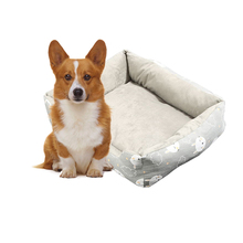 Dog Bed Mat House Pad Warm Winter Pet House Nest Dog Stripe Bed With Kennel For Small Medium Large Dogs Plush Cozy Nest hot dog house nest with mat foldable pet dog bed cat bed house for small medium dogs travel pet bed bag product