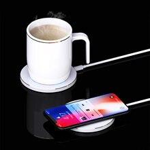 2 в 1 многофункциональная отопление кружка чашка Электрический
