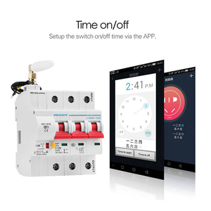 Image 5 - eWelink 3P  WiFi remote control circuit breaker Smart din rail switch compatiable with Alexa and google home for Smart Home