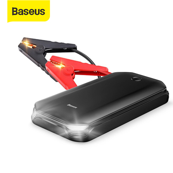 Baseus Power Bank Car Jump Starter Battery 12V 800A Portable Vehicle Emergency Battery Booster for 4.0L Car Power Starter image