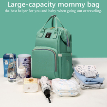 Mom Backpack Nappy Mummy Baby Outdoor Travel-Bag-Care Multi-Function Large-Capacity Waterproof