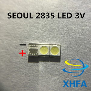 500 шт. для LG оригинальный светодиодный светильник для ЖК-телевизора с бусинами 1 Вт 3 в 3528 2835 холодный белый светильник