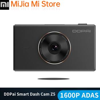 Xiaomi Mijia DDPai Dash Cam mola Z5 DVR 1600P UHD F1.8 HiSilicon 24H Parking Monitor APP Control WIFI 3 Inch IPS Touch Screen