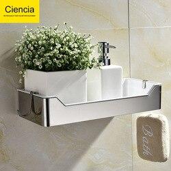 304 ze stali nierdzewnej otwór perforowane półka łazienkowa toaleta łazienka stojak do przechowywania podwójna warstwa rozłączna do przechowywania kosz hak|Kuchenki mikrofalowe|   -
