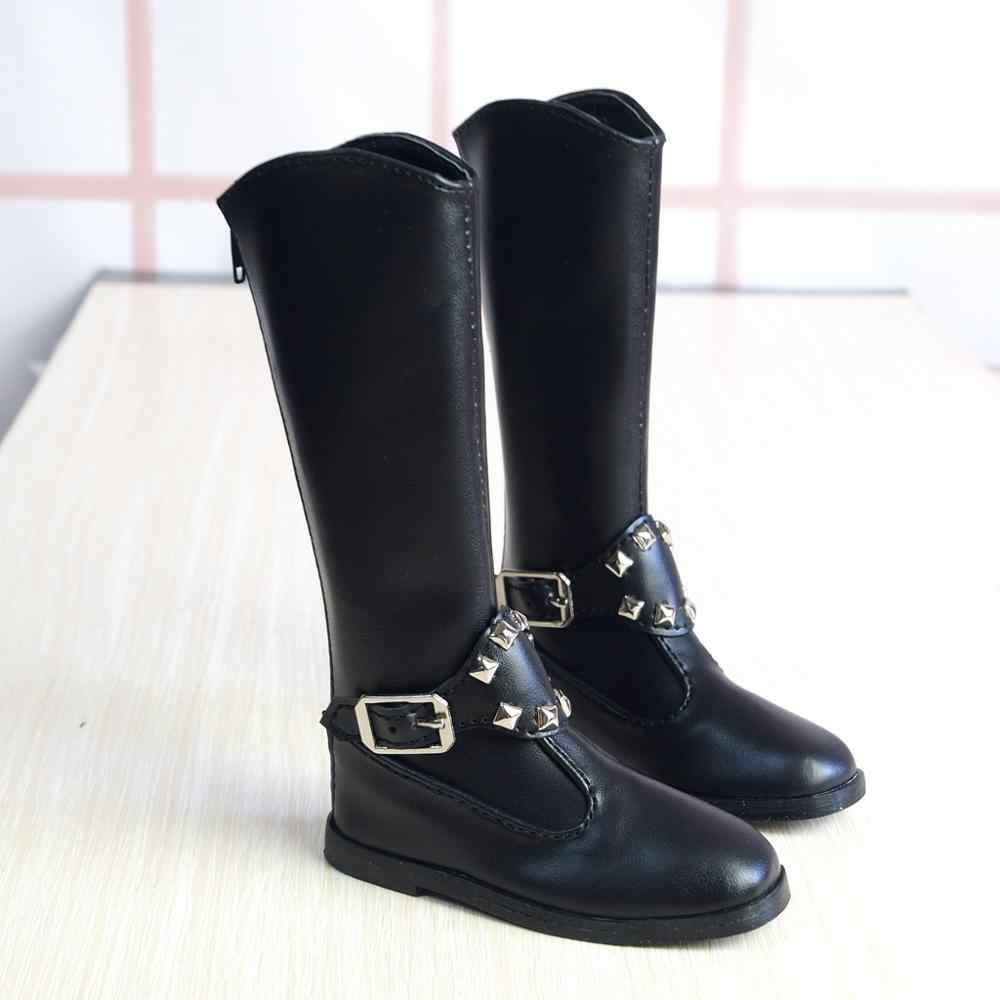 "BJD Black High heel Boots Shoes For Female 1//3 24/"" 60cm BJD doll AOD SD DOD DK"