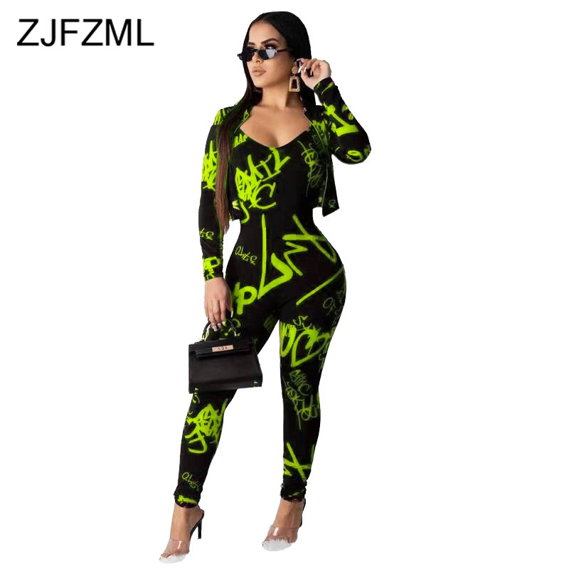 Women Camouflage Short Sleeve Crew Neck T-Shirt Top Stretch Bodycon Long Romper 2 Piece Tracksuits