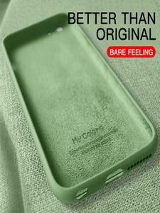Briame Original Soft Liquid Silicone Phone Case For iphone 7 8 6 6s Plus For Apple Cover