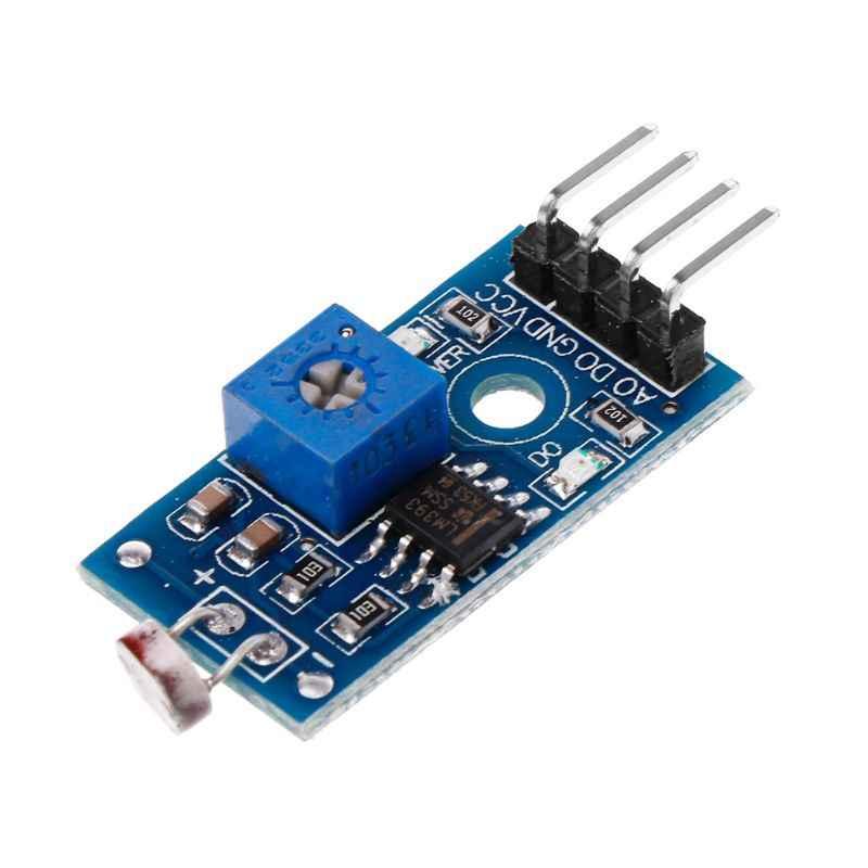 1pc デジタル光強度センサモジュールフォト抵抗フォトレジスタセンサー