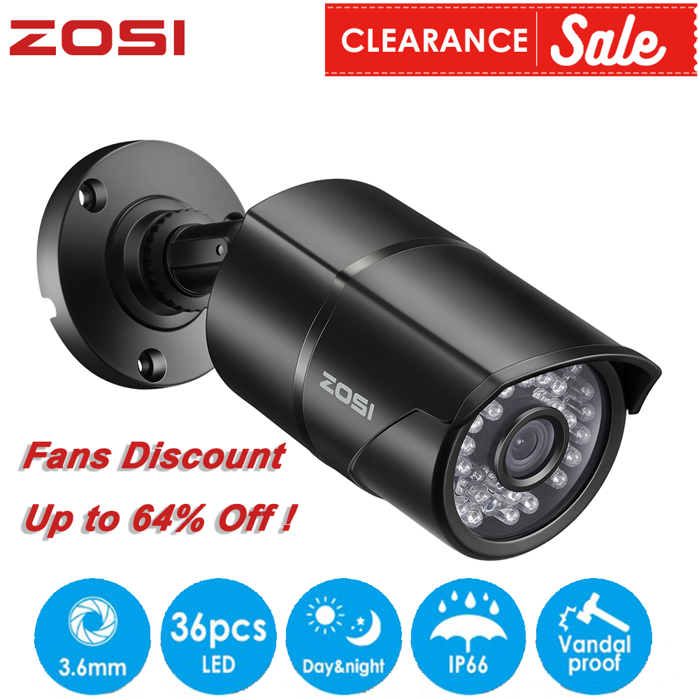 ZOSI 960H Analog CVBS CCTV Len Camera Module 1000TVL IR Cut Nightvision Video Waterproof Bullet Surveillance Camera For DVR Kiit