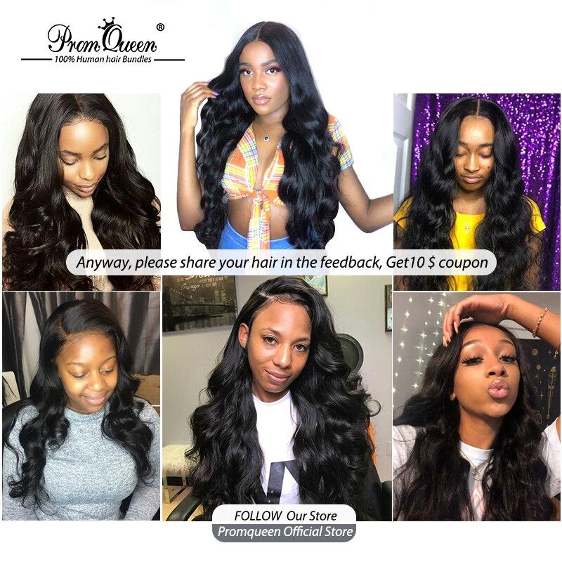 Prom Queen  Hair   Bundles Body Wave 1/3/4 Double Machine Weft   Bundles  2