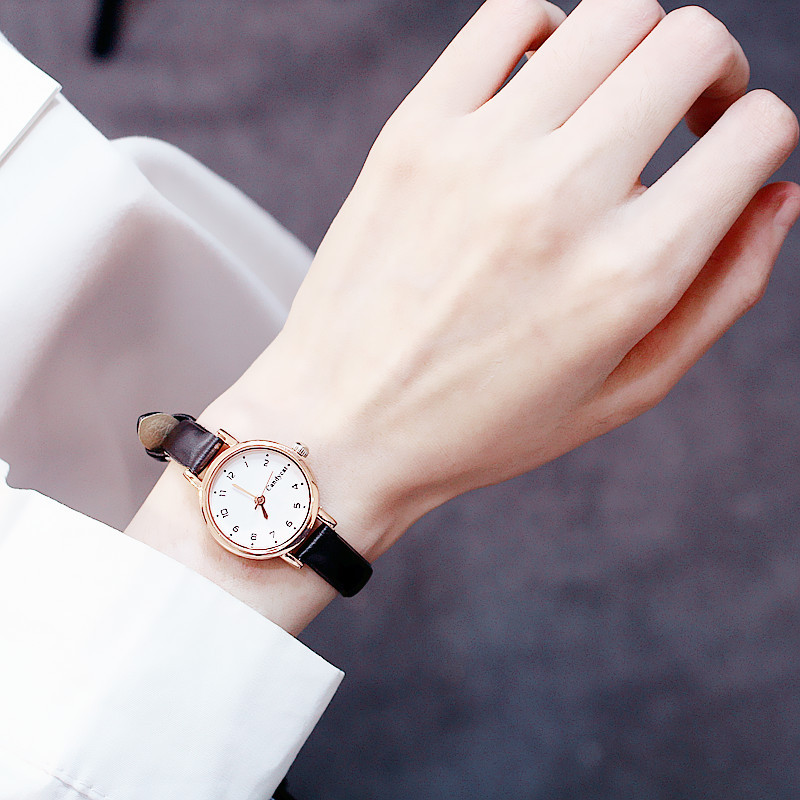 Simple Style Small Leather Watches Women Fashion Watch Minimalist Ladies Casual Wrist Watch Female Quartz Clock Reloj Mujer 2020