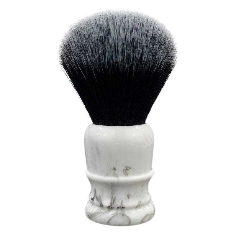 Soft Synthetic Hair Shaving Brush, Beard Brush Quality Nylon Hair Brush, Marble Artificial Hair Beard Brush, For Man Wet Shave