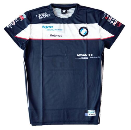 Free shipping 2019 Moto gp Racing Motorcycle Racing For <font><b>BMW</b></font> Summer Motocross <font><b>T</b></font> <font><b>Shirt</b></font> Men's Short Sleeve image