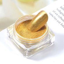 Индивидуальный дизайн ногтей в коробке блестящий золотой и серебряный