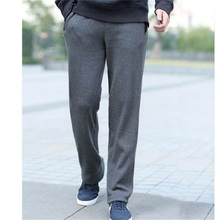 Large size men casual sweatpants baggy pants SF