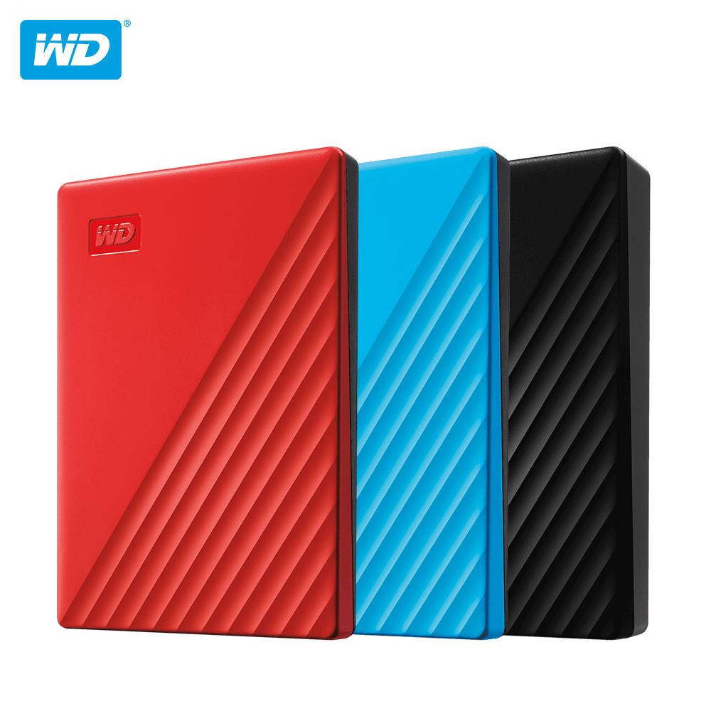 Western Digital My Passport™1TB 2TB 4TB 5TB External Hard Drive ...