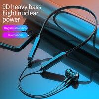Auriculares inalámbricos G04 para correr, cascos deportivos a prueba de agua, deportivos, con reducción de ruido, compatible con Bluetooth, deportivo magnético