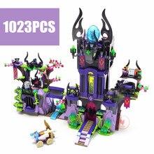 10551 Elves Ragana's Magic Shadow Castle building Blocks Bricks Toys for children Toys Compatible with lego gift kid set girls недорого