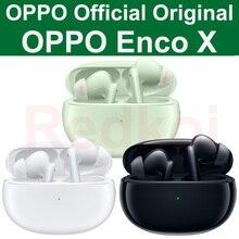 OPPO Enco X TWS écouteur 11mm pilote de basse BT 5.2 pour Dynaudio Duby transmission transparente double réduction de bruit Charge sans fil