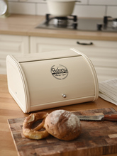 Dustproof storage box bread rack Retro Bread BoxBiscuit Snack Kitchen Accessories Household Finishing Storage Food Container