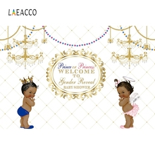 Laeacco Baby Shower Children Portrait Scene Photography Background Customized Princess Angle Photographic Backdrops Photo Studio