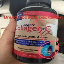 Amerykański genuine Neocell collagen + c 250 ziarna 1 butelka uroda anti aging bezpłatna dostawa piękno i pielęgnacja skóry
