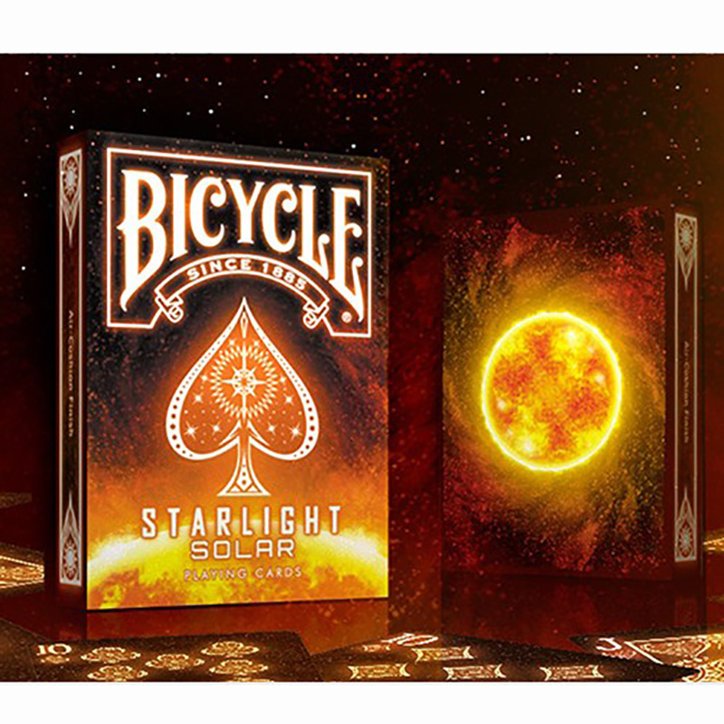 STARLIGHT SOLAR Playing Cards High Quality Playing Cards New Poker Cards For Magician Collection Card Game