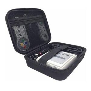 Новый портативный чехол для хранения, сумка для супер консоли Nintendo, сумочка для SNES, классический мини Чехол для костюма, чехол для хранения