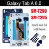 8 pollici Per Samsung Tab 8.0 2019 SM-T290 SM-T295 T290 T295 Touch Screen Display LCD Digitizer Assembly Pannello In Vetro + strumenti