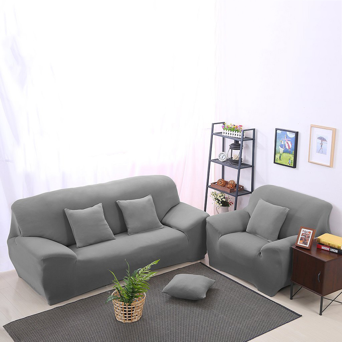 Us 18 47 50 Off Winomo Sofa Cover 3 Seater High Elasticity Anti Mite Chair Covers Sofa Covers For Living Room On Aliexpress