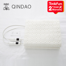 Electric-Heater Heating-Pad QINDAO Smart Mattress-Control Time-Temperature-Washable QD