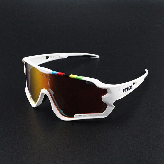 4 lente polarizada esportes ao ar livre da bicicleta óculos de sol gafas mtb ciclismo óculos peter homem 2