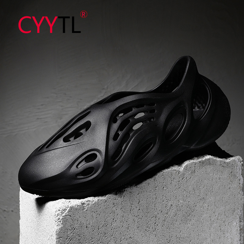 CYYTL Fashion 2020 Hot Couple Sandals Outdoor Beach Men Women Rubber Shoes High Quality Breathable Slippers Sandalia Hombre