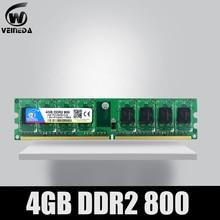 VEINEDA Geheugen Ram ddr2 8gb 2x4gb ddr2 800Mhz voor intel en amd mobo ondersteuning memoria 8gb ram ddr 2 800 PC2 6400