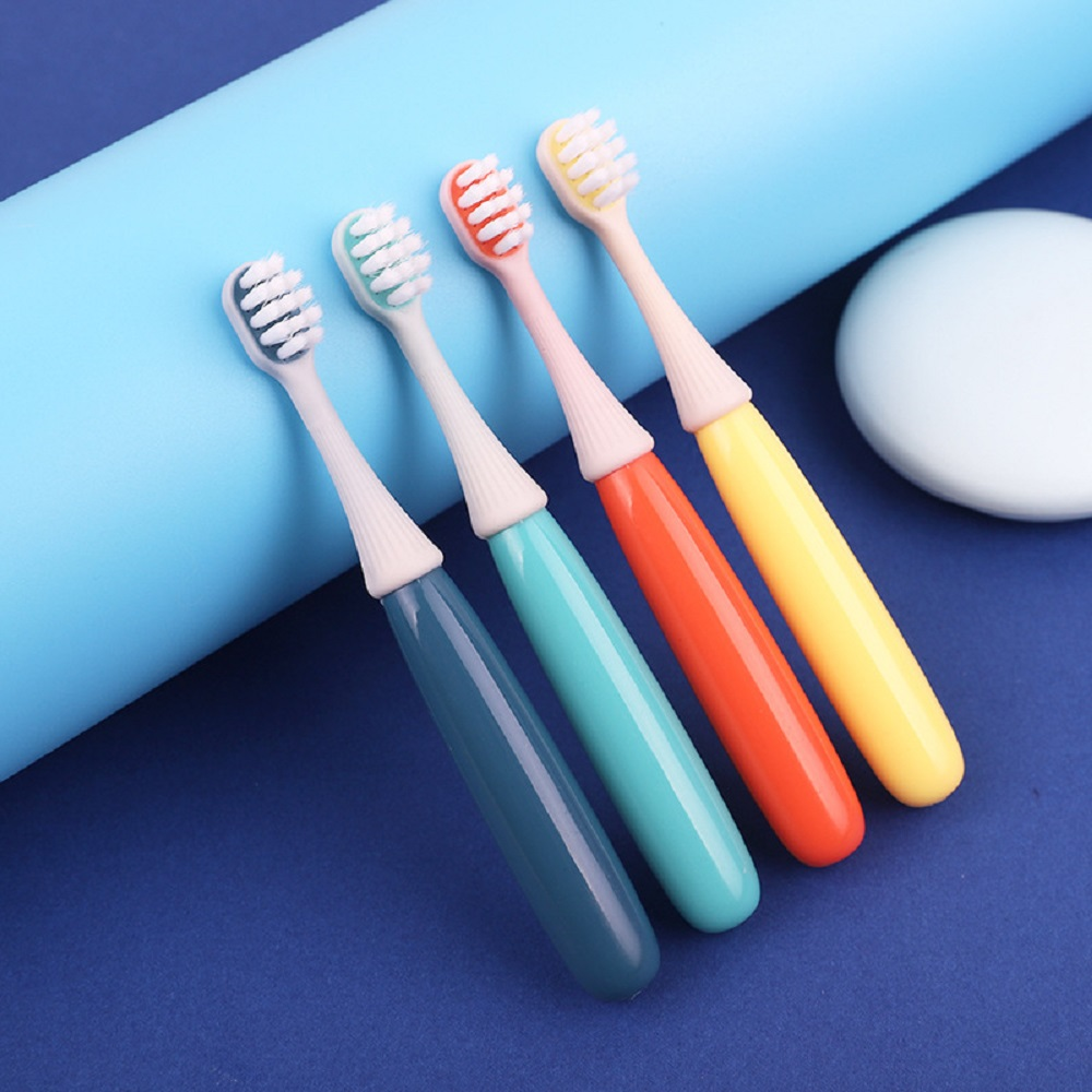 1pcs Baby Soft-bristled Silicone Toothbrush For Children Teeth Cute Training Toothbrushes Baby Dental Care