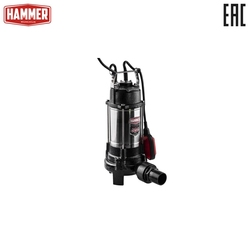 Насос фекальный Hammer NAP1100FD с ножами для измельчения