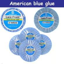 3 12 36 ярдов супер волосы синяя кружевная Передняя поддерживающая