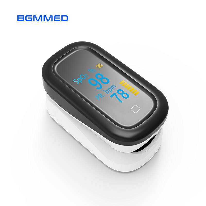 Image 2 - Medical Portable Finger Pulse Oximeter OLED blood oxygen Heart Rate Monitor Touch Oximetro de dedo Saturometro MonitorBlood Pressure   -