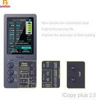 Qianli iCopy Plus de pantalla LCD Color de reparación de programador para iPhone 11Promax XSmax XR XS 8P 8G 7P 7G vibración de batería de contacto y los datos