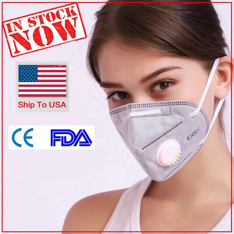 Cartoon Reusable Children Maske With 10 Filters Breath Valves Mouth Face Maske Kids In Stock Washable Maske Dust-proof Ste