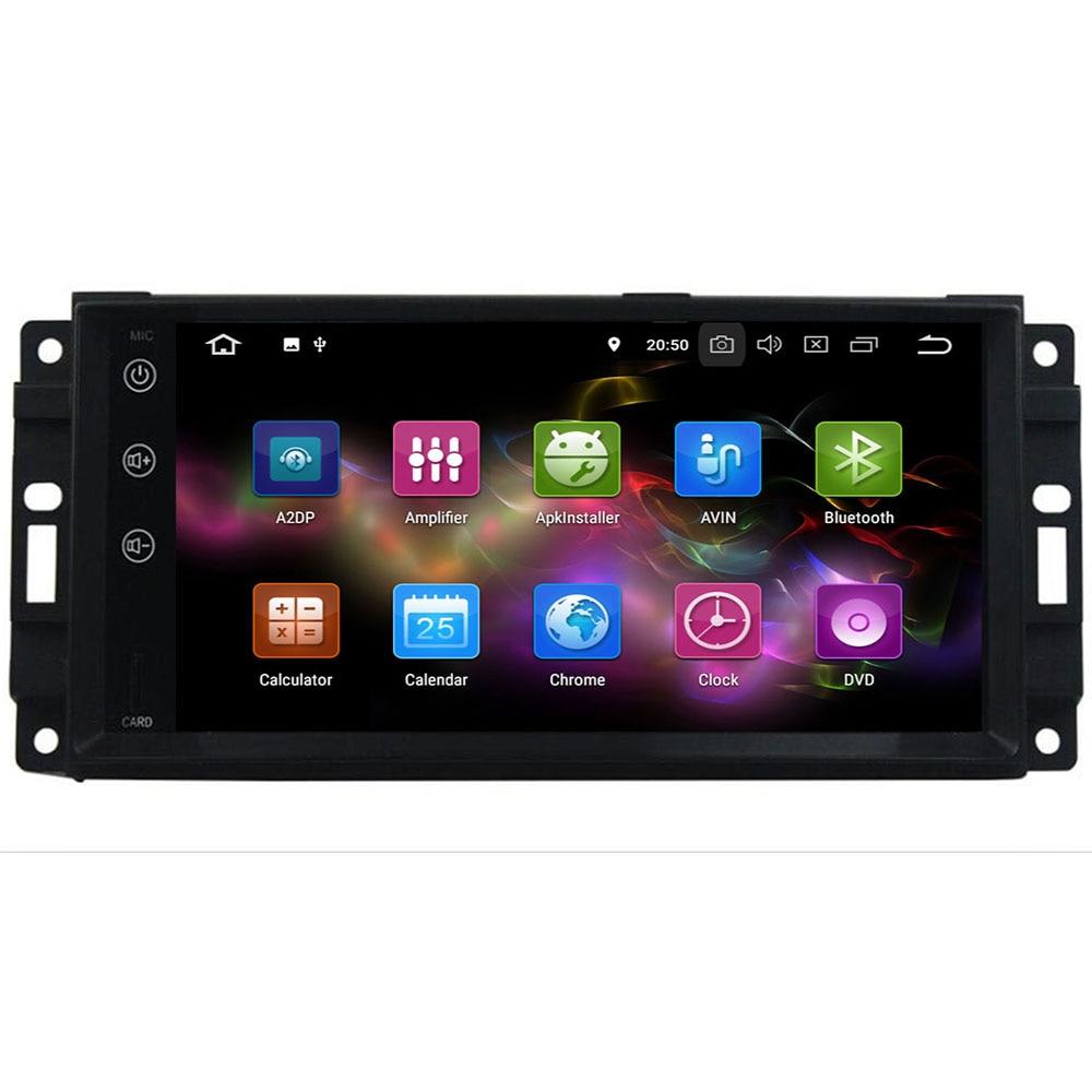 Excellent 4G+64G Android 9.0 Car Radio Multimedia DVD GPS For Chrysler 300C PT Cruiser Aspen Sebring Dodge Caliber Ram Jeep Grand Cherokee 4
