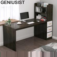 Scrivania Notebook stojący Escritorio Tafel meble biurowe łóżeczko biurko komputerowe podstawka do laptopa stół stołowy z półką tanie tanio GENIUSIST NONE HOME CHINA Laptop biurko