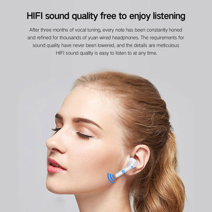 Image 2 - True Wireless Earbuds Bluetooth 5.0 Wireless Earphones Active Noise Canceling with 3000mAh Power Bank Touch Headphone Rogbid G9
