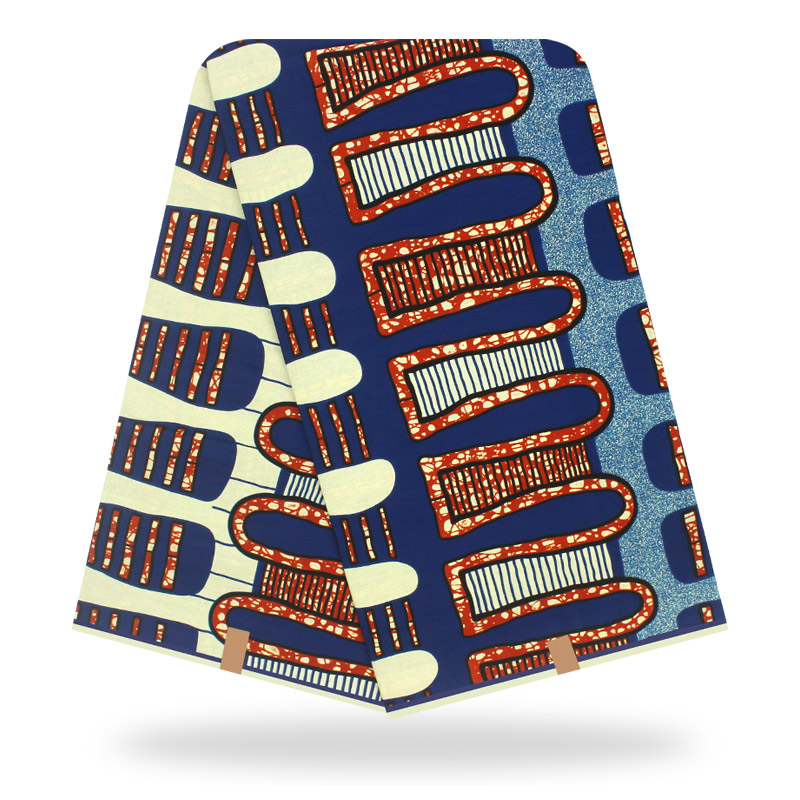 Excellent Design  Ankara Real Wax African Printed Fabric 100% Cotton High Quality African Ankara Wax Dashiki Fabric