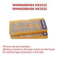 MITSUBISHI WNMG080404 NX2525 WNMG431/WNMG080408 NX2525 WNMG432 CNC 터닝 밀링 서멧 인서트 신품 무료 배송