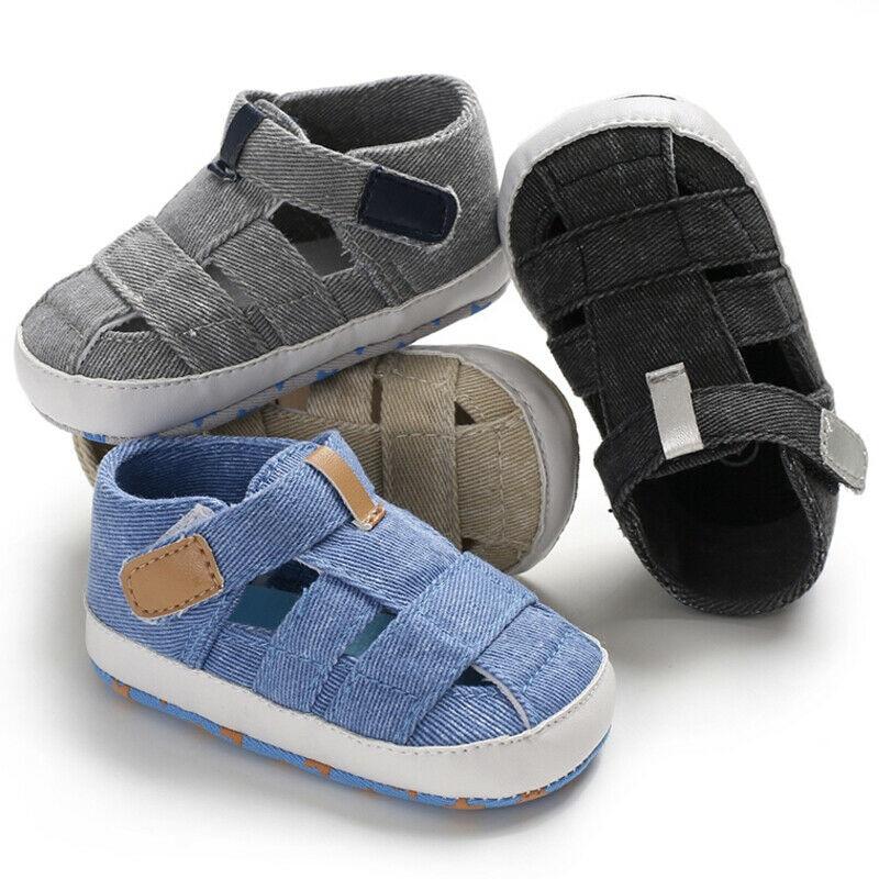 Baby Boy Girl Summer Sandals 0-18M 10