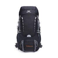 40L Backpack Camping Waterproof Mountaineering Hiking Backpacks Molle Sport Bag Climbing Rucksack Outdoor Mountaineering Bags