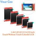 1 44/1 8/2 0/2 2/2 4/2 8 дюймовый цветной TFT ЖК-дисплей Экран Дисплей модуль SPI Serial диск ST7735 ILI9225 ILI9341128 * 128 240*320